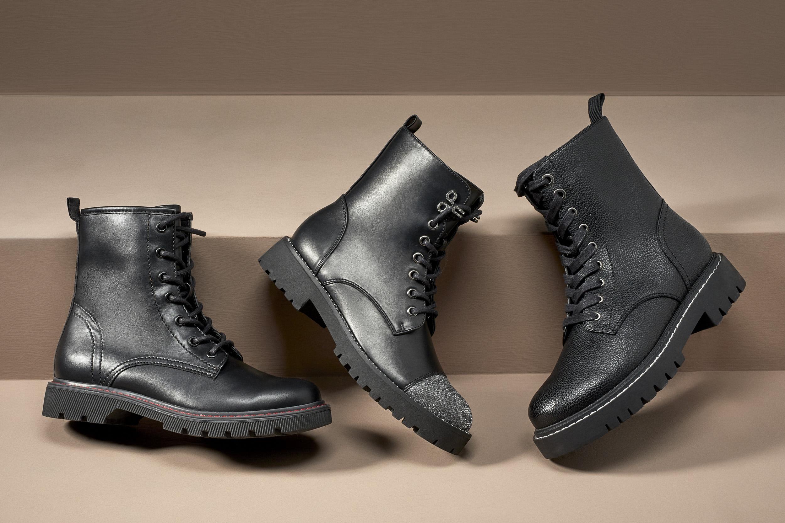 biker boots Deichmann