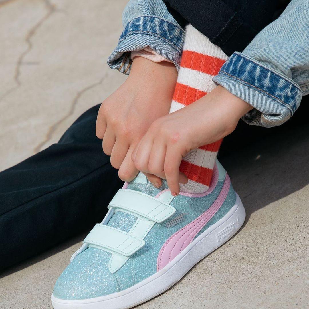 scarpe per bambini con lo strap