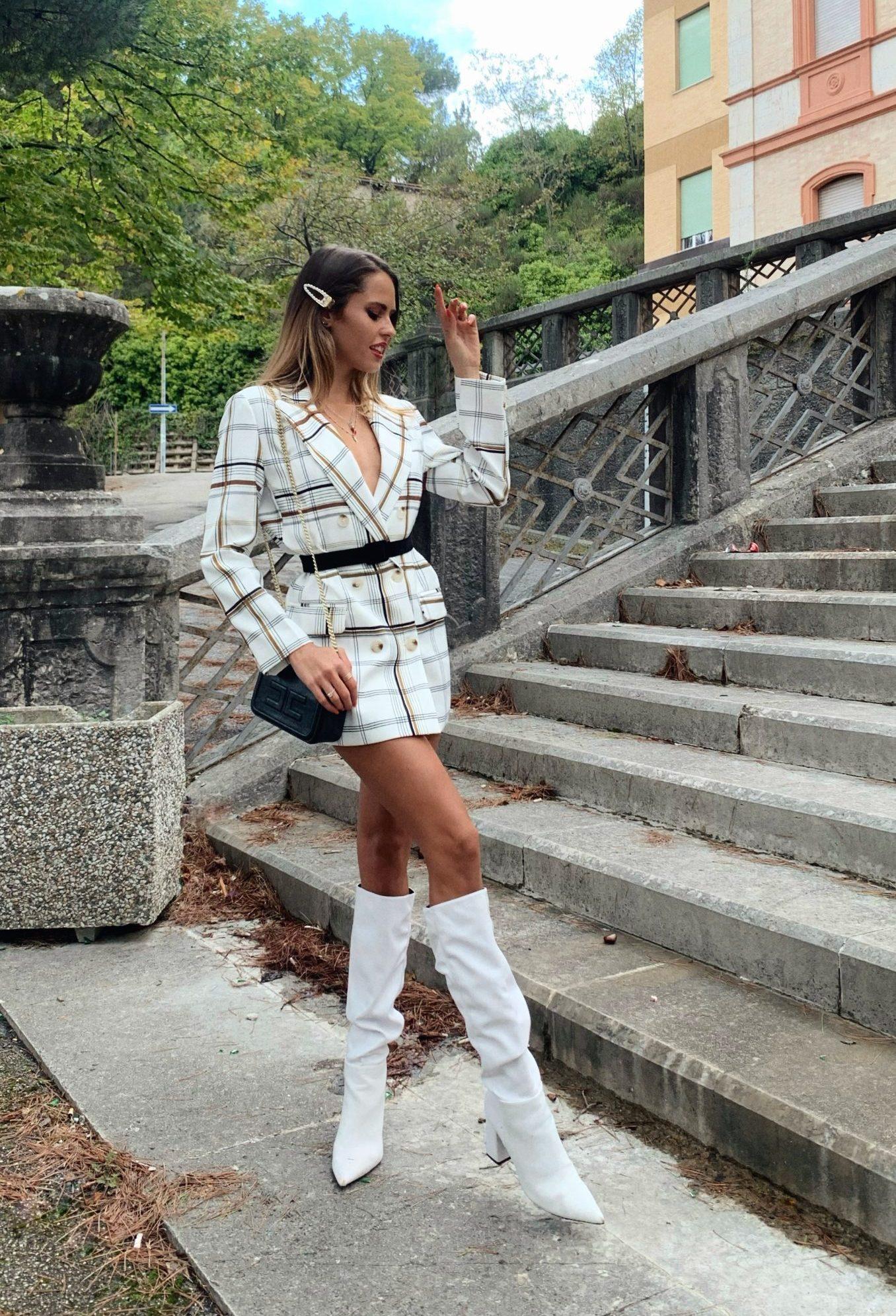 5 tendenze moda - abito tweed