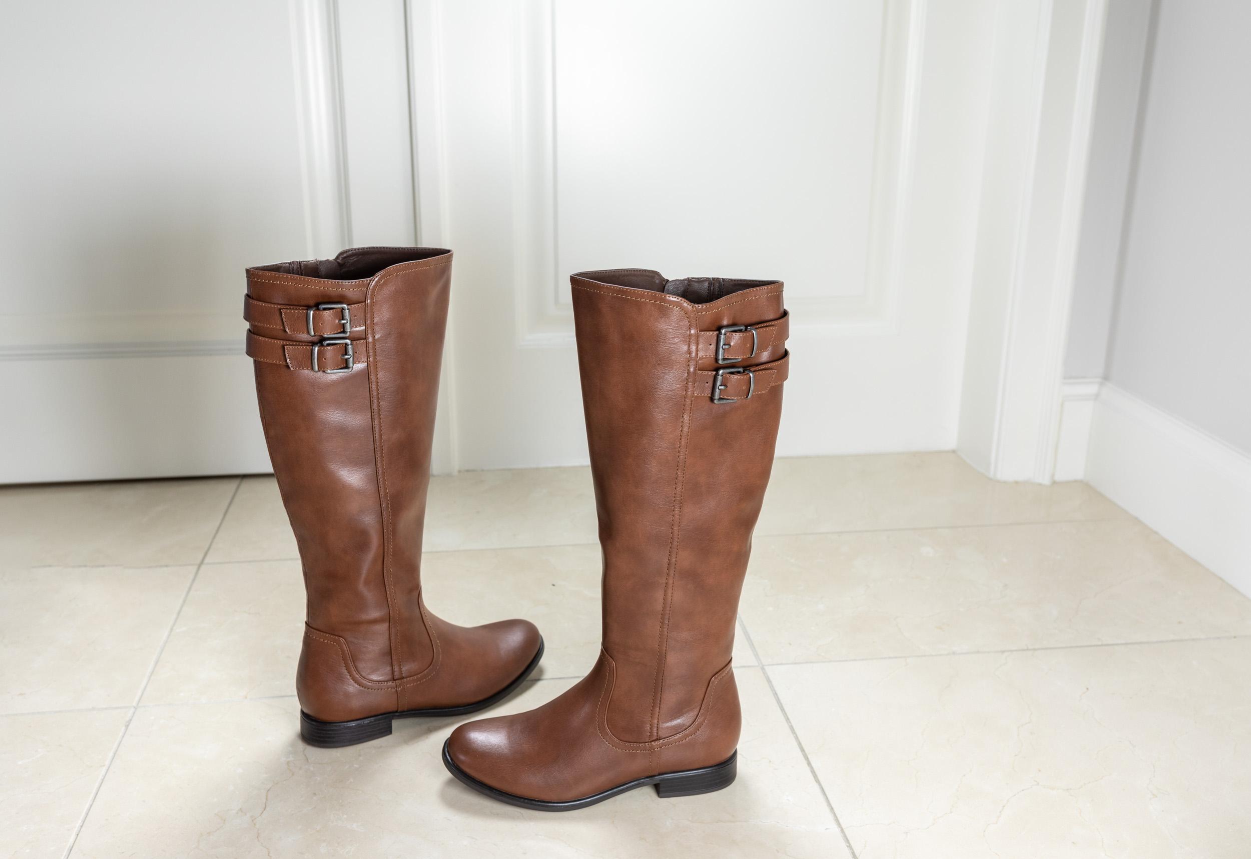 tendenze stivali - stivali con gambale largo, Deichmann