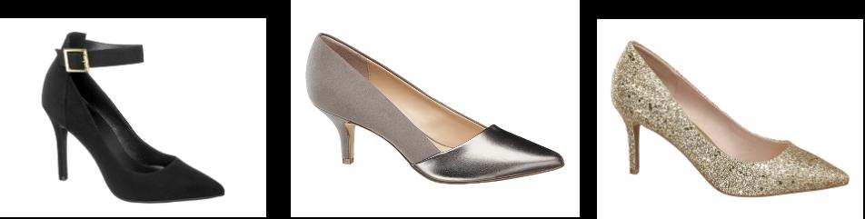 Party shoes, pumps Deichmann