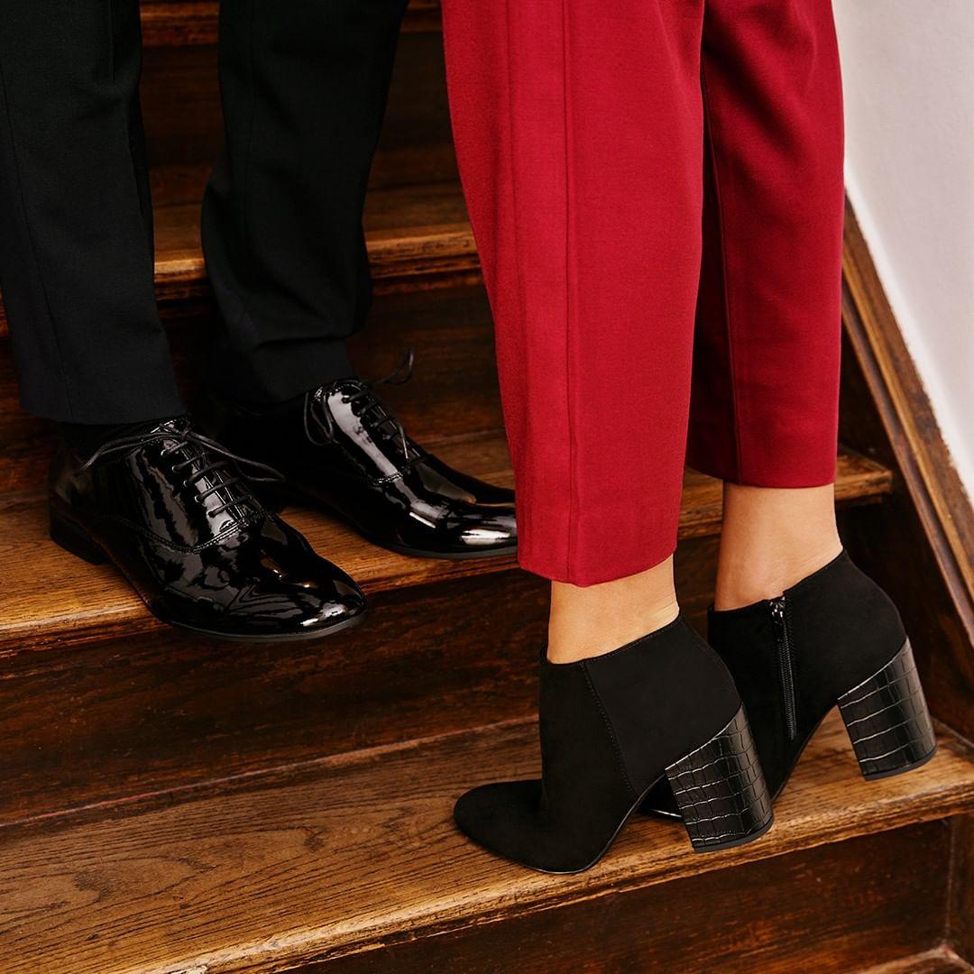 scarpe eleganti uomo e donna