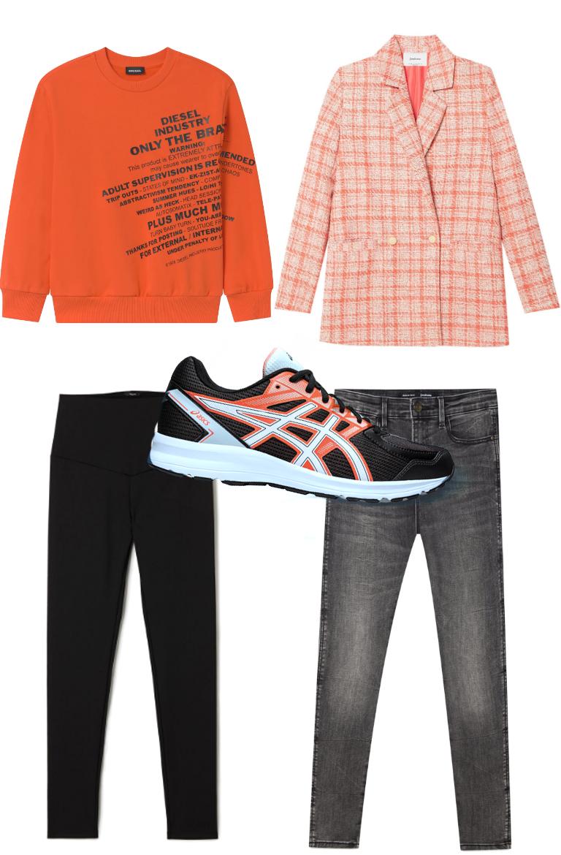 look comodi sneakers, Asics Jolt, Deichmann