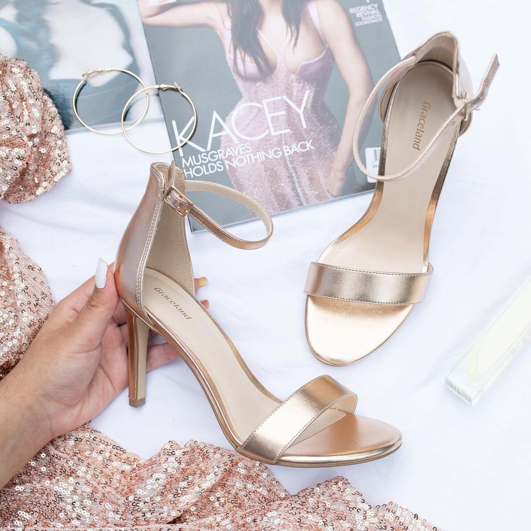 sandali platino