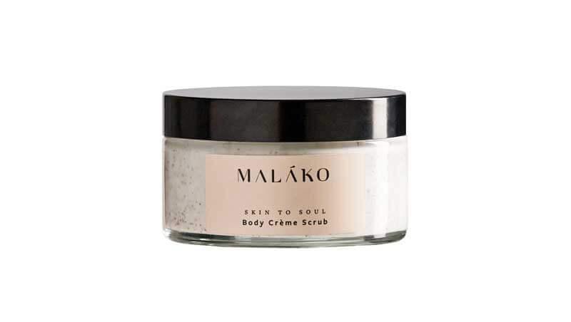 Scrub - Body Scrub calmante e rinvigorente, Malàko Skincare su greesoulcosmetics.com