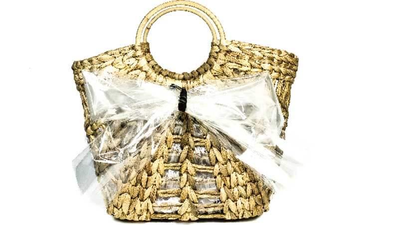 Picnic outfit - Borsa in paglia, Radà