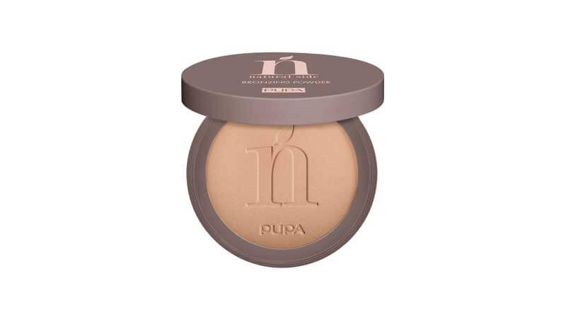 Summer make-up - Bronzing powder, Pupa