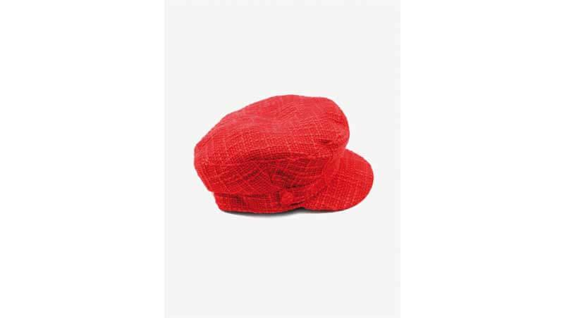 7 capi rossi - cappello baker boy