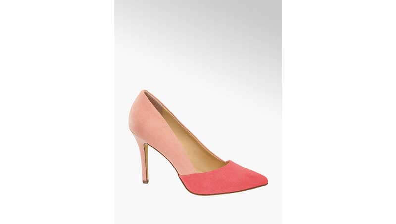Silhouette femminile - Décolleté rosa, Deichmann
