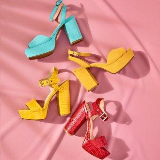Colour Up - Sandali della collezione Rita Ora for Deichmann