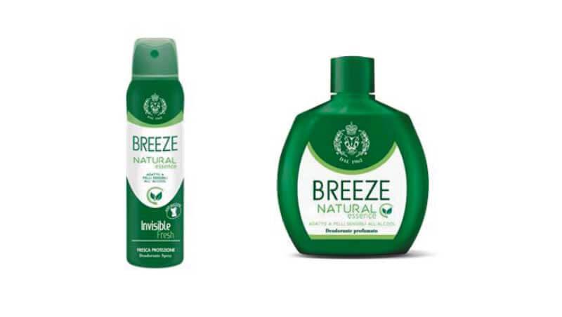 Sos freschezza - Deodoranti senza alcool e senza sali di alluminio, Breeze