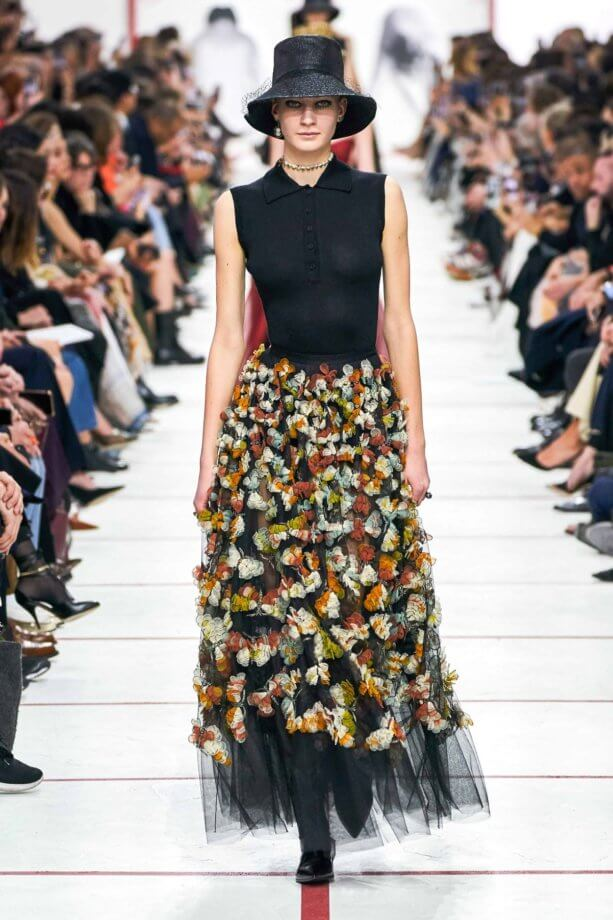 floreale in autunno - Dior // Photo Credit Vogue.com