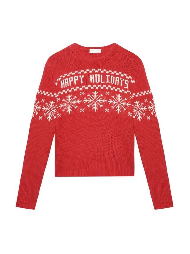 maglioni natalizi - maglione con scritta Happy Holidays