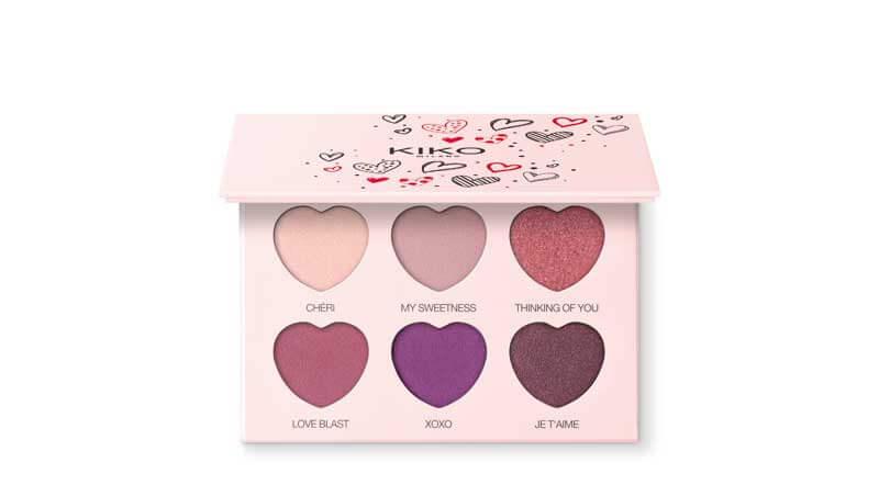 San Valentino - Eyeshadow palette, Kiko