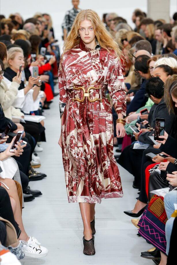 Foulard - Dress con maxi cintura