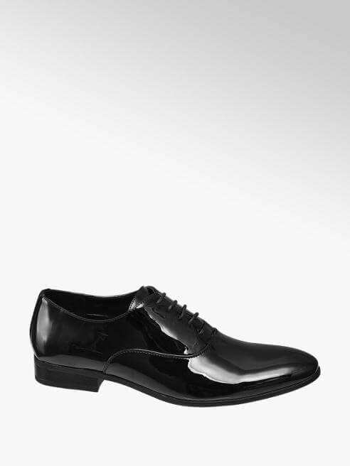Scarpe da cerimonia - Francesina in vernice nera, Deichmann