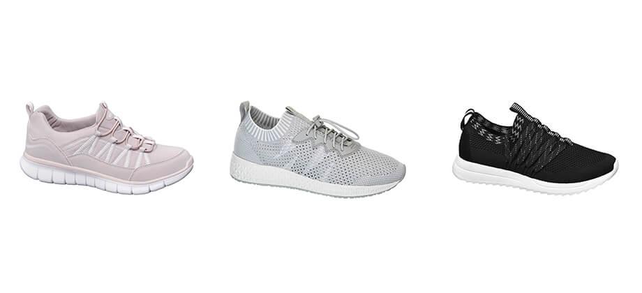 Sneaker tendenza 2018 collezione Deichmann