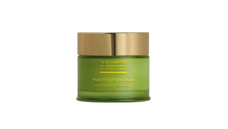 Bronze secrets - Hydrating floral mask, Tata Harper su greensoulcosmetics.com