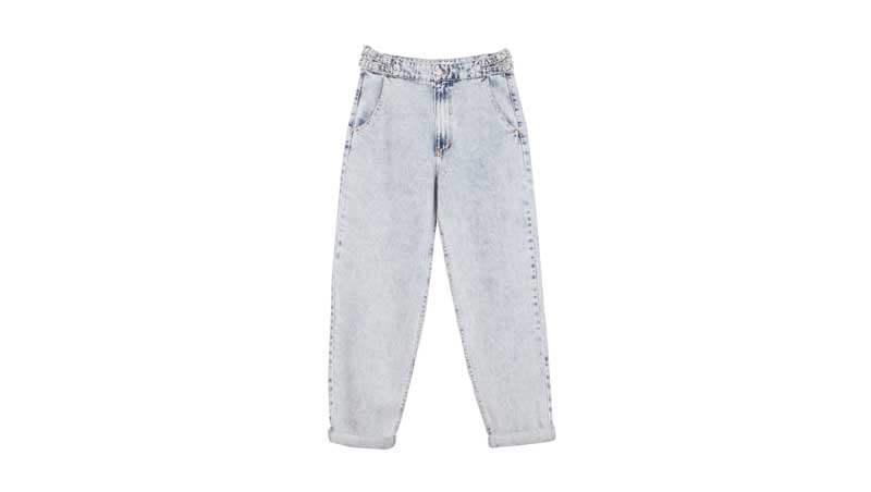 Jeans Baggy modello ispirato agli anni Ottanta, Bershka