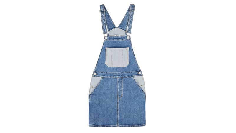 Denim skirt - Jumpsuit in denim, TOMMY su Amazon