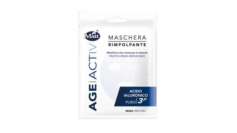 Sos bellezza - Maschera all'acido ialuronico, Matt
