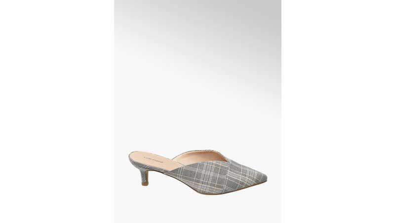 Sandali da donna - Mule con tacco basso, Deichmann