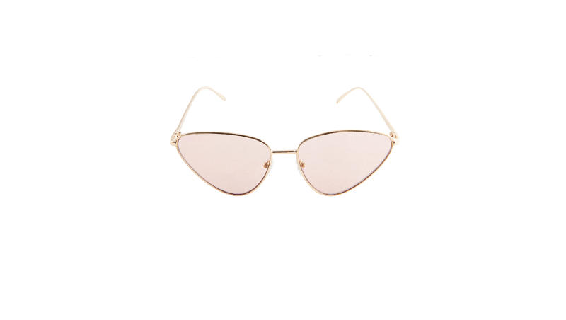 Occhiali da sole cat eye Bershka