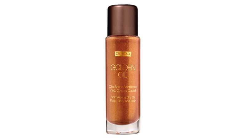 Abbronzatura - Olio secco scintillante per viso, corpo e capelli, Pupa