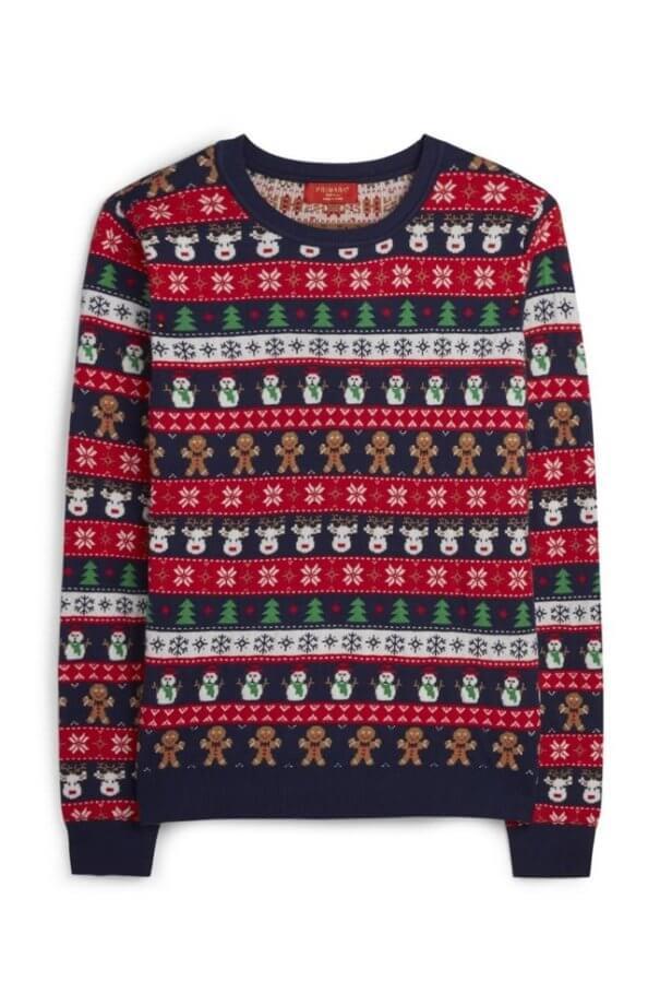 maglioni natalizi - maglione con decorazioni di Natale