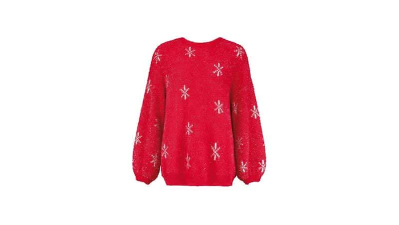 7 capi rossi - Pullover natalizio