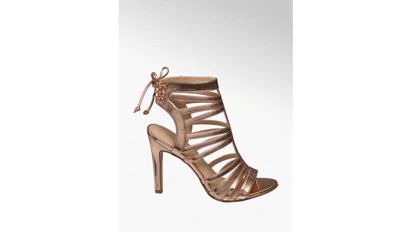 Sandalo oro Catwalk, Deichmann