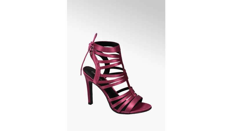 Sandali da donna - Sandalo con stiletto e listini, Deichmann