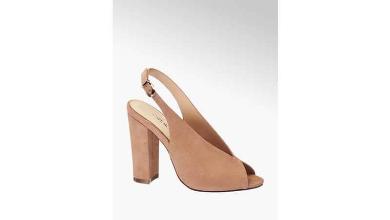 Sandali da donna - Sandalo spuntato con tacco largo, Deichmann