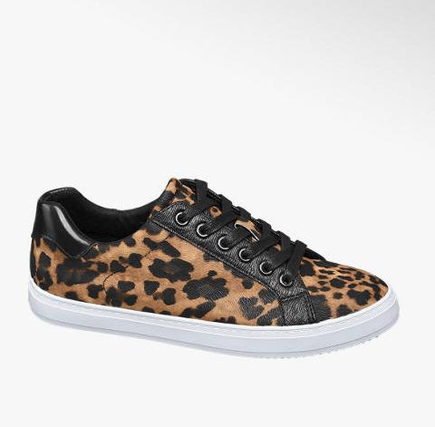 Scarpe sportive - sneaker leopardate, Deichmann