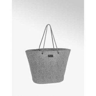Collezione esclusiva Kylie & Kendall - shopper grigio chiara con manici