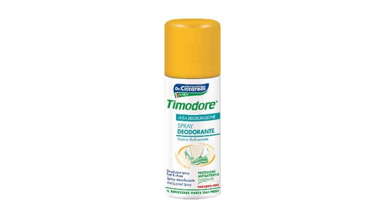Sos freschezza - Spray deodorante Timodore, Dr. Ciccarelli
