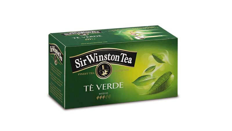 10 buoni propositi beauty - Tè verde, Sir Winston Tea