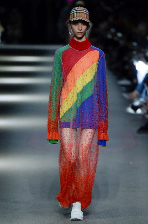 Arcobaleno - Vestito oversize