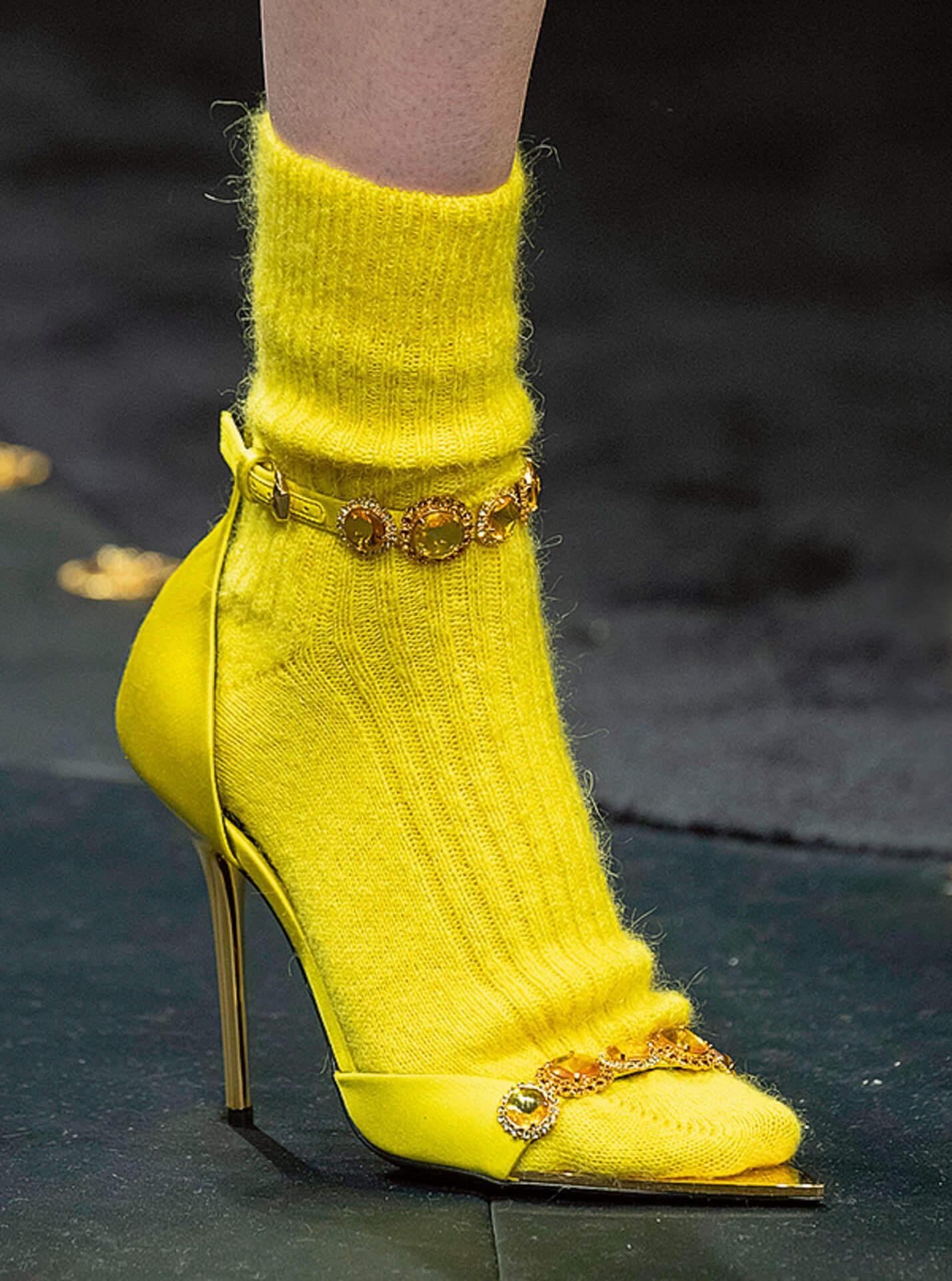 Farb-Flash gesehen bei Versace © Jason Lloyd Evans