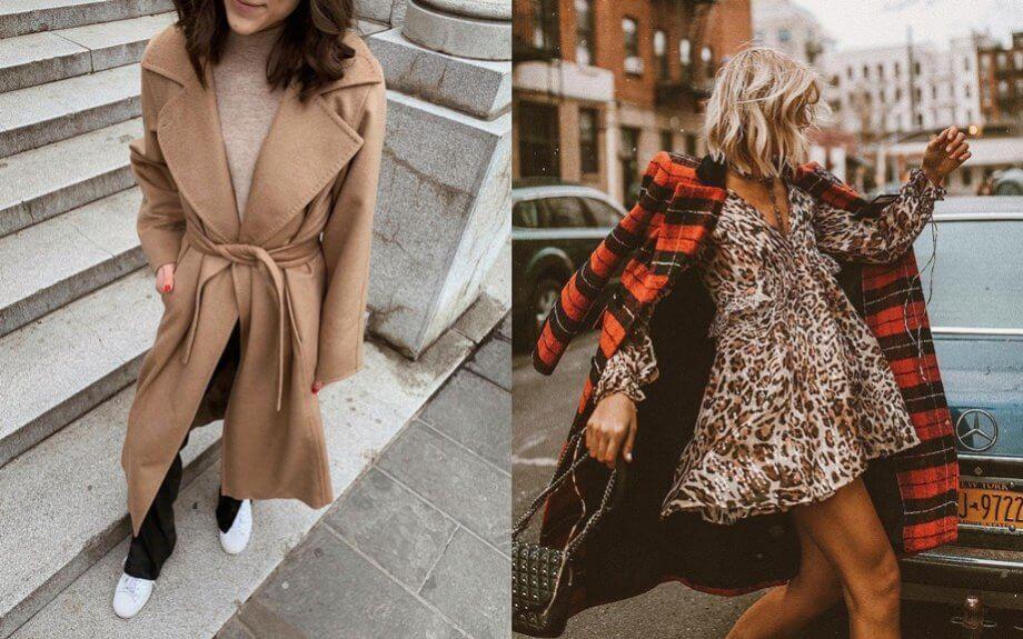 Saldi - Il classico cappotto in lana vs cappotto in tartan rosso tendenza del 2019