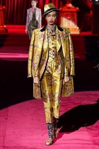 Barocco - completo oro con decorazioni floreali