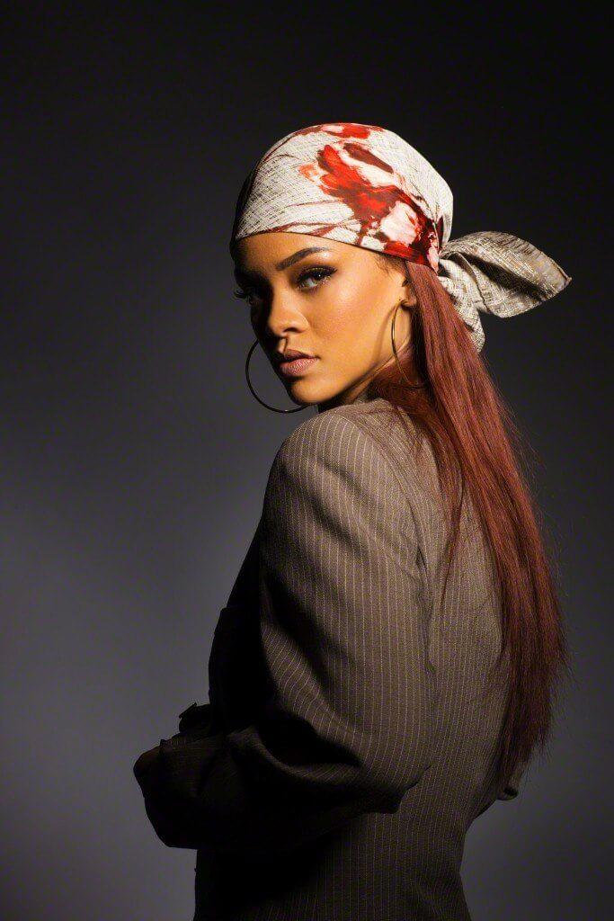 foulard sui capelli - bandana con nodo dietro