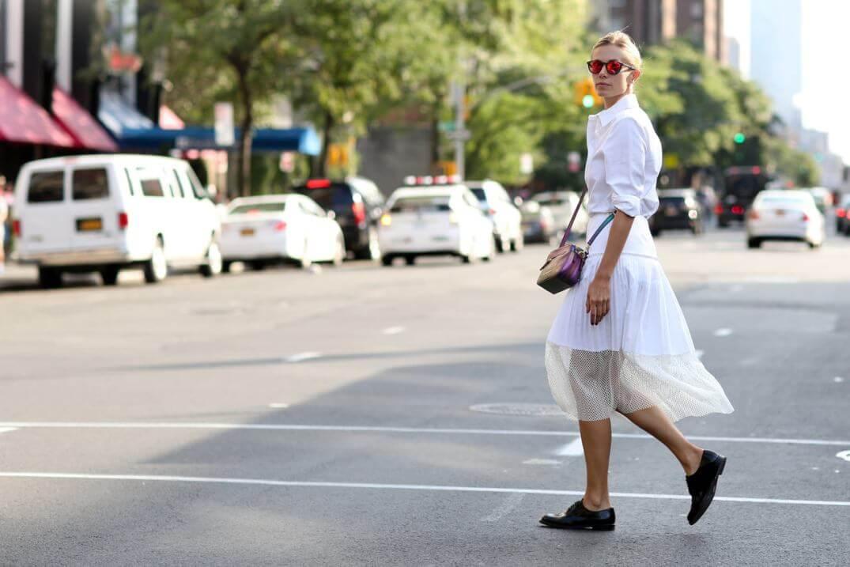 look per il rientro in ufficio - outfit total white
