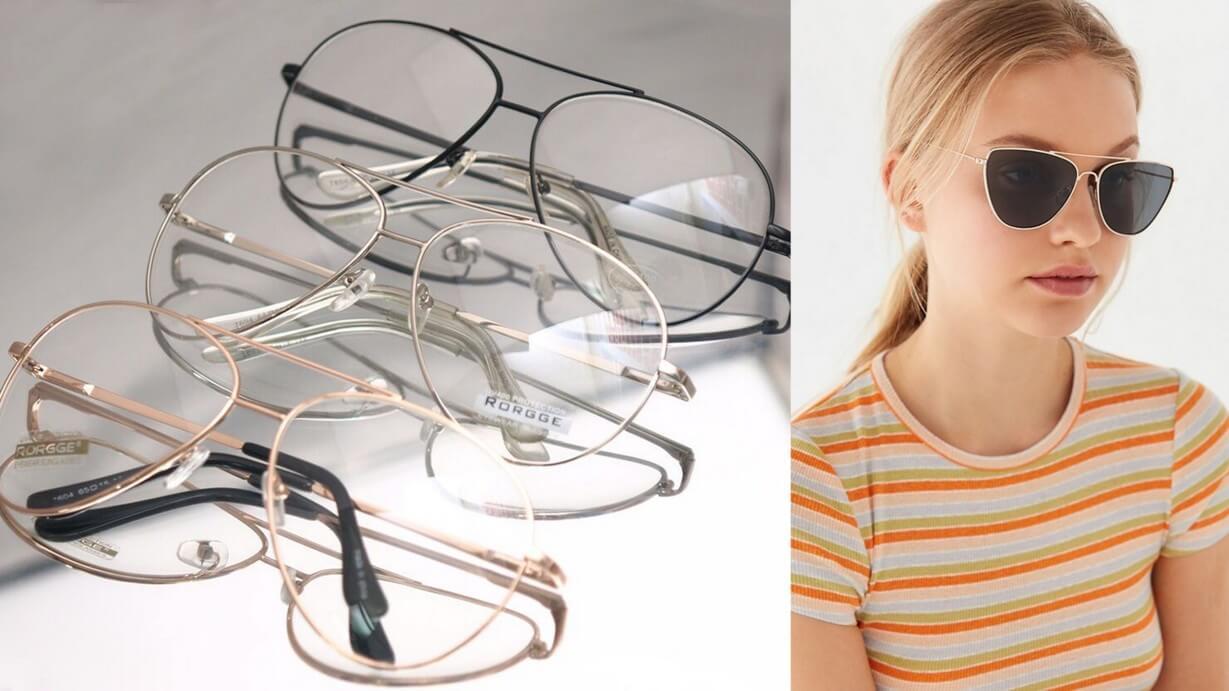 occhiali da sole aviatore