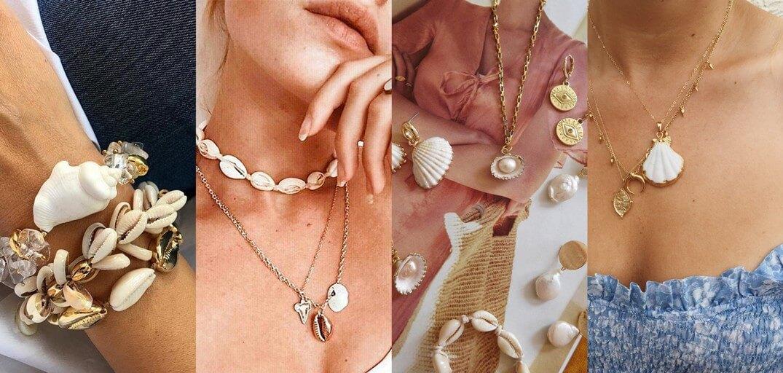 5 pezzi chiave dell'estate 2019 - gioielli conchiglia