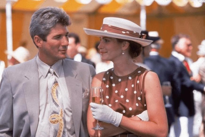 la moda dei pois - pretty woman alla partita di polo
