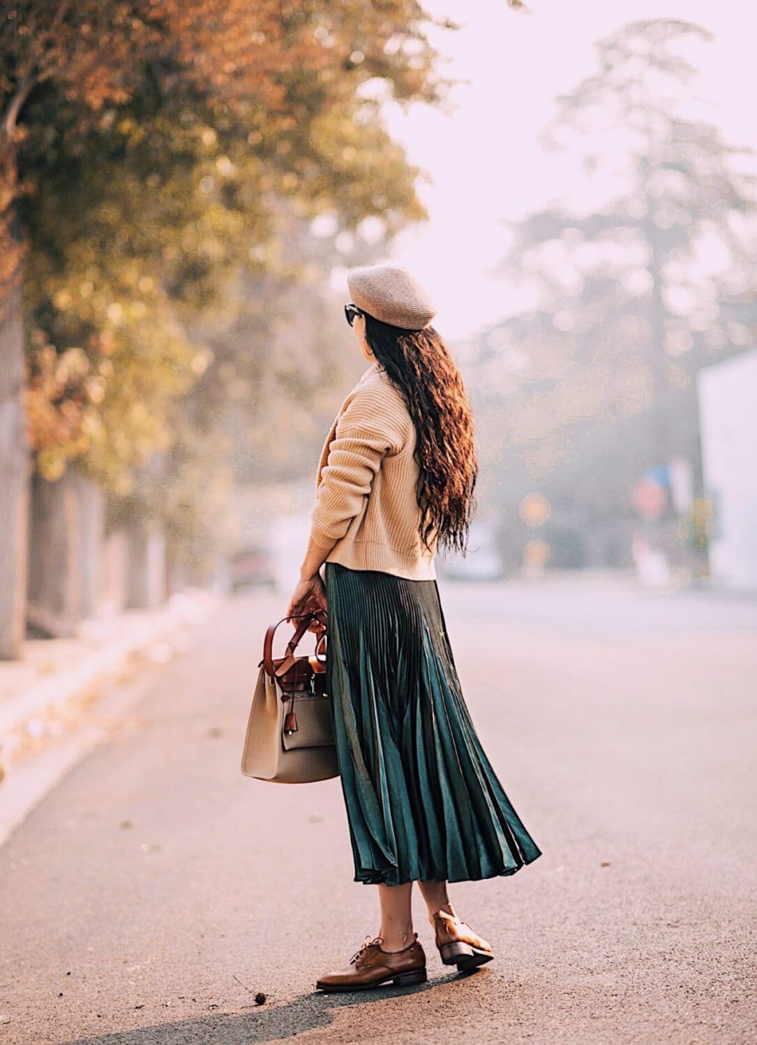 scarpe stringate donna marroni