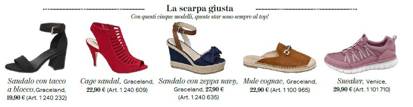 Gigi e Bella Hadid - Collezione scarpe donna, Deichmann