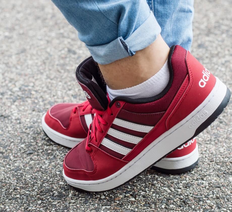 czerwone Shoelove by Deichmann