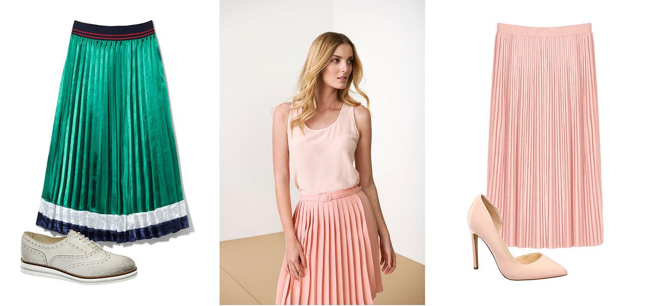 ... sukni si môžete vybrať lodičky alebo k zelenej sukni zdobenej bielym a  modrým pruhom si môžete obuť tieto kožené poltopánky od značky 5th Avenue. 573e5218fcb